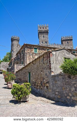 The Castle of Torre Alfina. Lazio. Italy.
