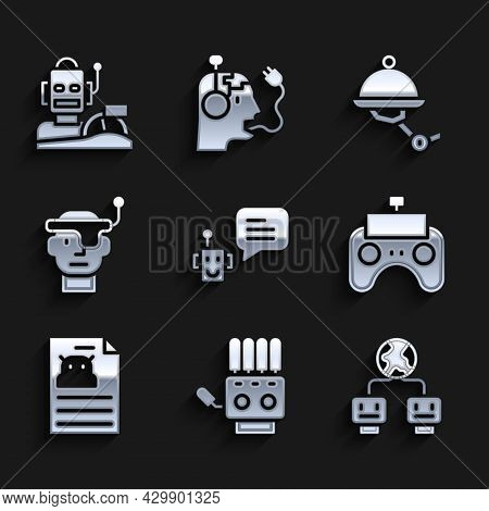 Set Bot, Mechanical Robot Hand, Artificial Intelligence, Remote Control, Technical Specification, Sm