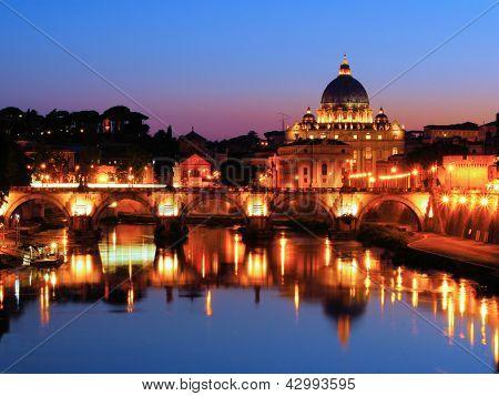 Vatican night view
