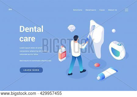 Care And Maintenance Of Teeth. Dental Prophylaxis Of Oral Cavity And Removal Calculus. Whitening Ena