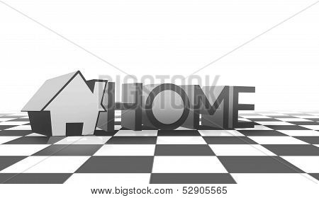 Home text design