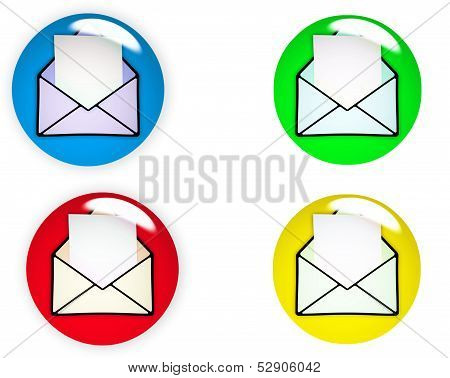 Glossy Email Icon