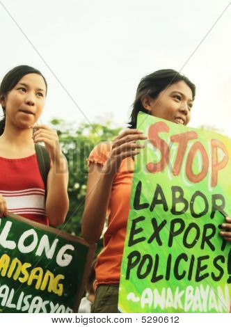 Stop Labor Export Policy
