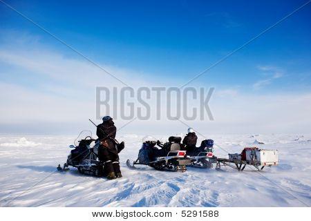 Svalbard Snowmobile Adventure