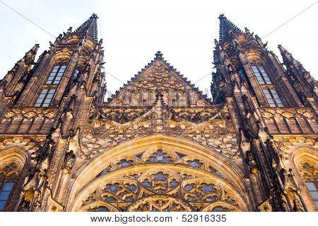 Prague. Hradcany. Cathedral.