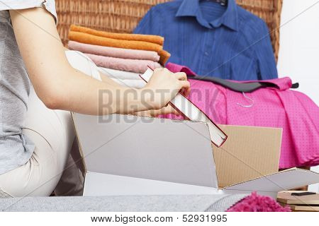 Woman Is Moving Out