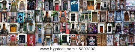 Compilation Of Old Doors (new York)