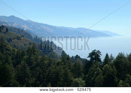 Big Sur California Mountains