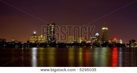 Boston Skyline Over The Charles River