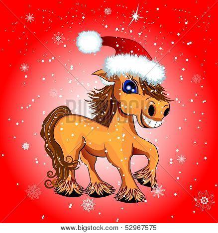 Festive Funny Horse