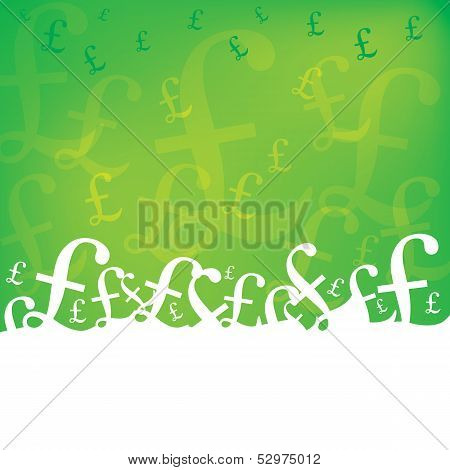 Abstract Money Background