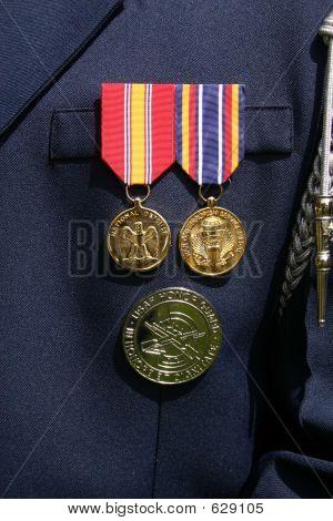 Honor Guard Medals