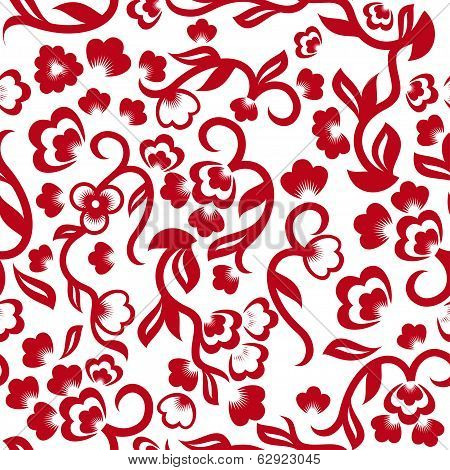 Floral Excellent Seamless Background