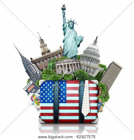 USA, landmarks USA