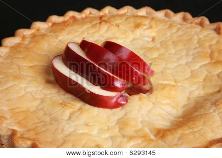 Close Up Of Fresh Apple Pie