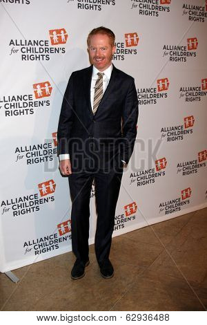 LOS ANGELES - APR 7:  Jesse Tyler Ferguson at the Alliance for Children's Rights' 22st Annual Dinner at Beverly Hilton Hotel on April 7, 2014 in Beverly Hills, CA