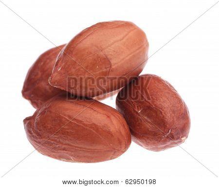 Pile of peanuts.