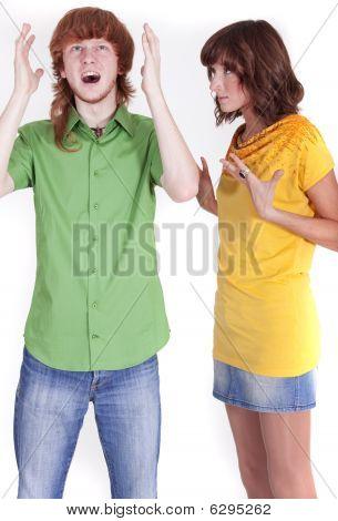 Disputing Couple