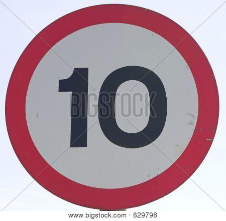 Speed Limit 10