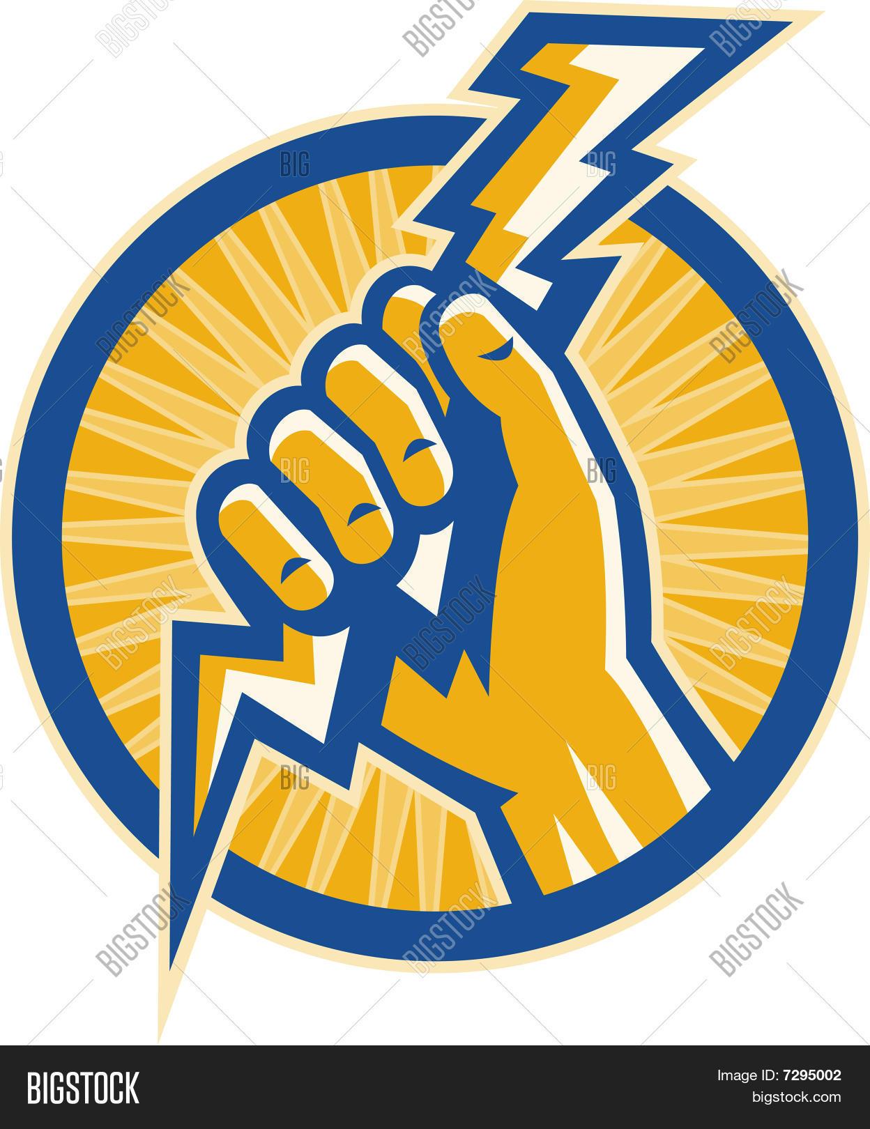 Hand Holding Lightning Bolt Image  for Electricity Lightning Bolt  76uhy
