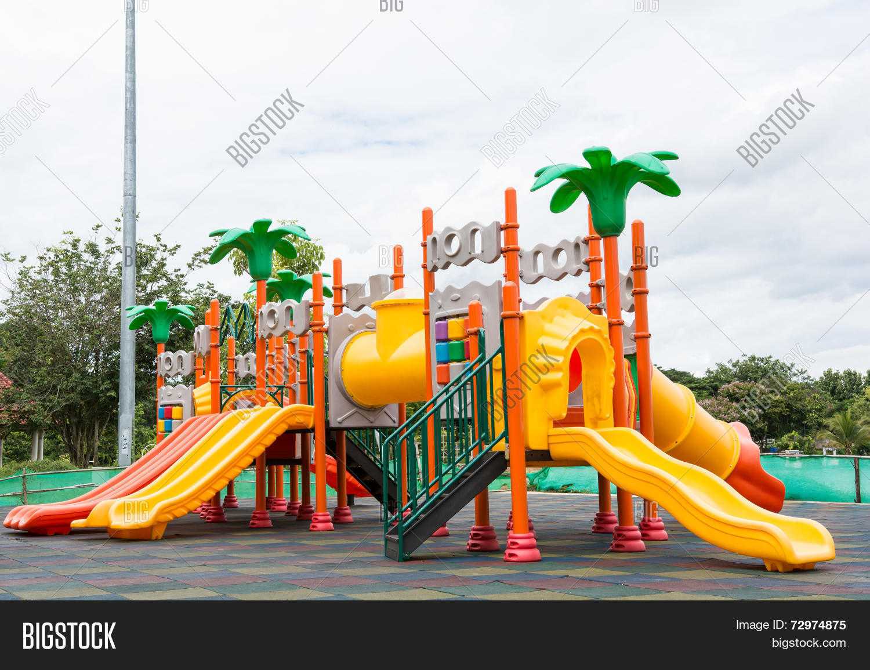 Colorful Playground Image & Photo (Free Trial) | Bigstock