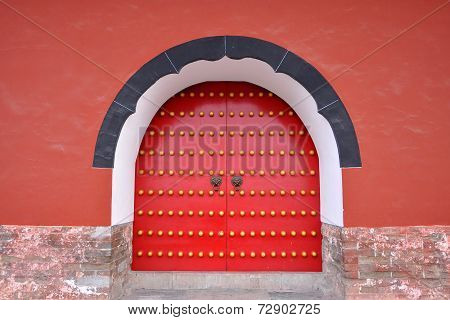 Gate of Ming Xiaoling Mausoleum, Nanjing, China