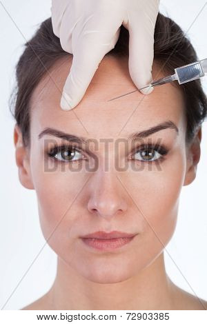 Woman Has A Botox Intervention
