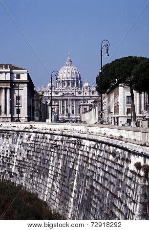 St Peters Basilica, Rome.