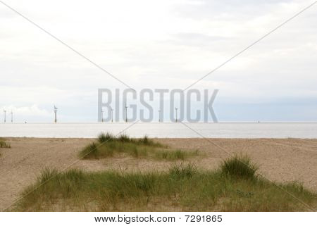 Wind Farm Near Great Yarmouth