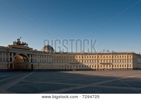 Palace Square, General Staff Arch