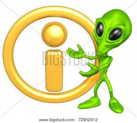 Mini Alien With Info