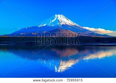 World Heritage Mount Fuji and Lake Shojiko