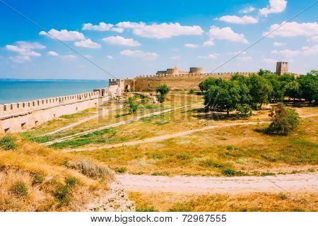Ukraine, Odessa Region. Belgorod-dniester Fortress. Akkerman Fortress - A Monument To The History Of