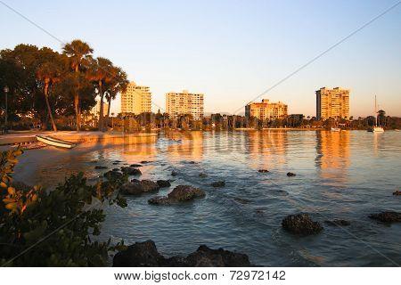Downtown Sarasota from Bayfront Park