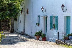 Greek summer house