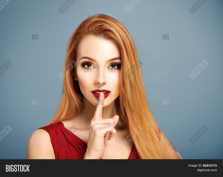 Hush  Sexy Woman Image & Photo (Free Trial) | Bigstock