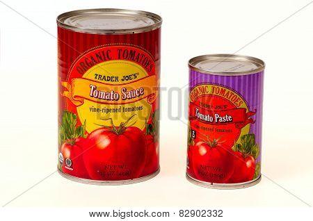 Tomato Sauce And Paste