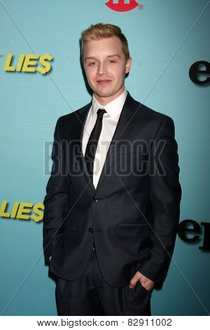 LOS ANGELES - JAN 5:  Noel Fisher at the Showtime Celebrates All-New Seasons Of