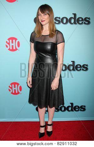 LOS ANGELES - JAN 5:  Isidora Goreshter at the Showtime Celebrates All-New Seasons Of