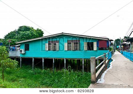 The Colorful of House