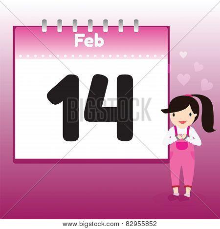 Valentine's Day In Calendar