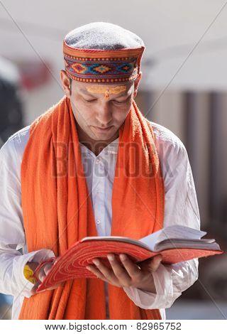 A brahmin scholar