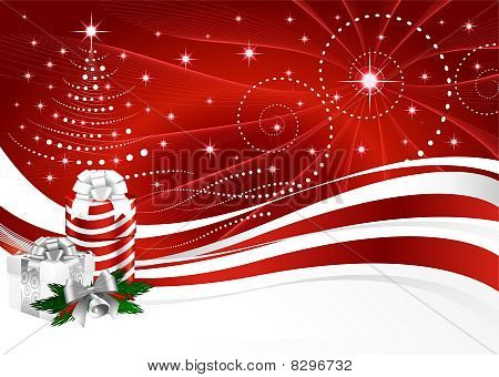 Background Christmas horizontal