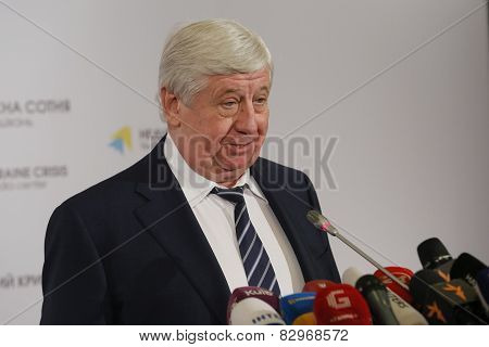V?ktor Shok?n The Newly Elected Prosecutor General Of Ukraine