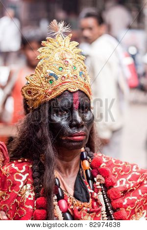 Devotee of Kali