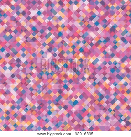 Abstract Vector Geometric Background With Squares.