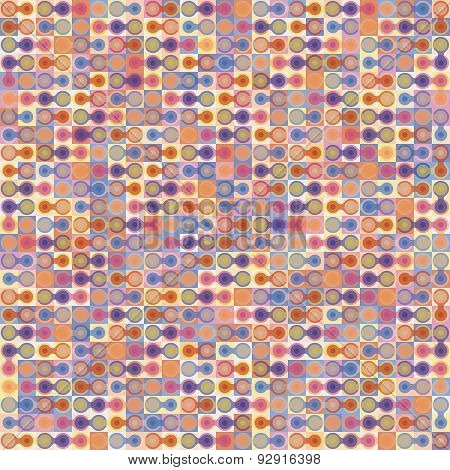 Abstract Vector Colorful Geometric Background.