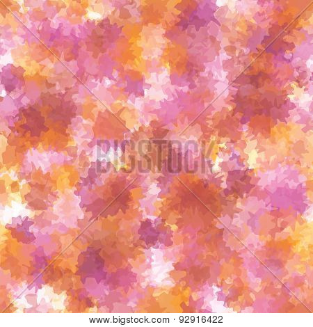 Abstract Vector Artistic Background With Colorful Spots.
