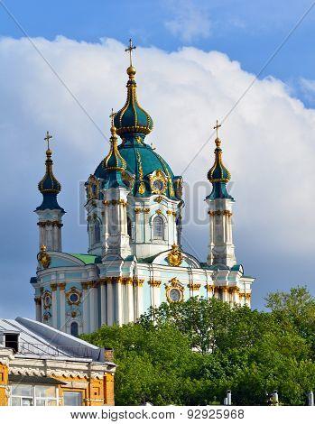 Kiev, Ukraine. St. Andrew's Church