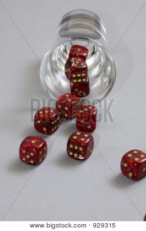 Spilled Red Dice